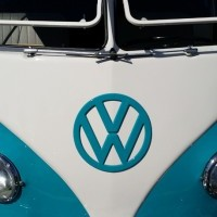 Car Show Orange County - VW Bus in San Clemente